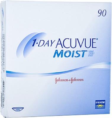 Johnson & Johnson J&J_AcuvueMoist1day30lens(BC-8.5)-9.50 Daily Contact Lens(-9.5, Transparent, Pack of 30)