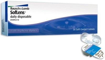 Bausch & Lomb Soflens Disposable Daily(-1.5, Contact Lenses, Pack of 30)