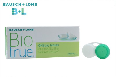 Bausch & Lomb Biotrue 1 Day with Lens Case By Visions India Daily(-5.75, Contact Lenses, Pack of 30)