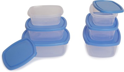 Flipkart SmartBuy 10 Piece Refrigerator Storage Containers(Pack of 10, Red)