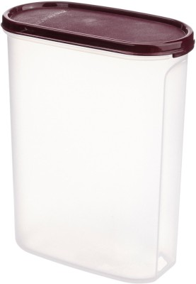Signoraware Modular Container Oval No. 4 Container, 2.3 Litres  - 2.3 L Plastic Multi-purpose Storage Container(Maroon)  available at flipkart for Rs.360