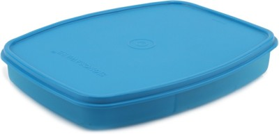 Signoraware Slim Lunch Box  - 610 ml Plastic Food Storage(Blue)  available at flipkart for Rs.170