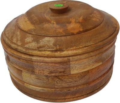 Handicraft WOODEN MADE CHAPATI BOX Serve Casserole 1500 ml Handicraft Casseroles