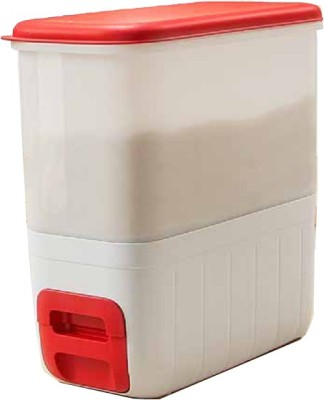 Tupperware  - 10000 ml Plastic Multi-purpose Storage Container(White, Red) at flipkart
