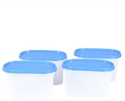 Tupperware  - 1100 ml Polypropylene Food Storage(Pack of 4, Blue) at flipkart