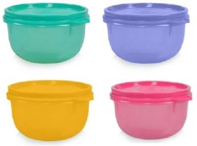 Tupperware  - 230 ml Polypropylene Multi-purpose Storage Container(Pack of 4, Multicolor) at flipkart