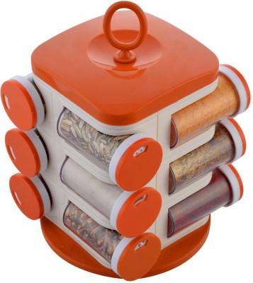 Losange    100 ml Plastic Spice Container Pack of 12, Multicolor