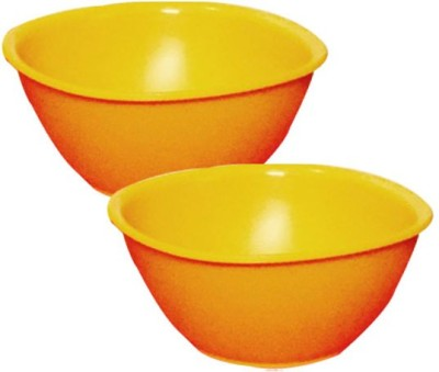 Tupperware - 800 ml Plastic Food Storage(Pack of 2, Orange)