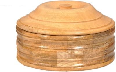 limra handicrafts  - 5 dozen Wooden Multi-purpose Storage Container(Brown) at flipkart