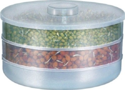 Moforce Sprout Maker  - 1 L Plastic Grocery Container(White)  available at flipkart for Rs.175