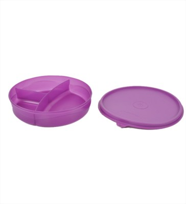 Tupperware Divided Dish 1 Containers Lunch Box(350 ml)  available at flipkart for Rs.265