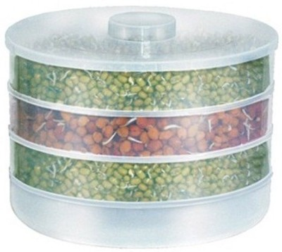 Blue Sky Healthy sprout maker  - 500 ml Plastic Grocery Container(Clear)  available at flipkart for Rs.362