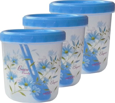 92b704fb28d Buy Milton Storage - 1000 ml Plastic Grocery Container(Pack of 3 ...