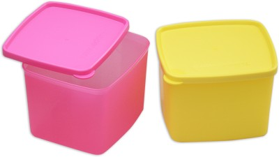 Tupperware  - 800 ml Plastic Multi-purpose Storage Container(Pack of 2, Multicolor) at flipkart