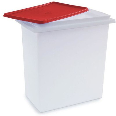 Tupperware  - 24 L Plastic Grocery Container(Red) at flipkart
