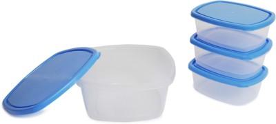 Flipkart SmartBuy 4 Piece Refrigerator Storage Containers(Pack of 4, Blue)