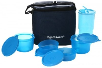 Signoraware Combo Executive Lunch Box (Big) 5 Containers Lunch Box(2160 ml)