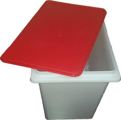 Tupperware  - 10000 ml Plastic Food Storage(White, Red) at flipkart