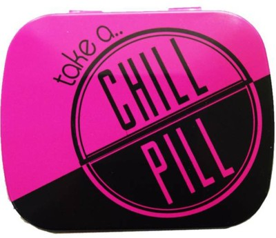 Random in Tandem Chill Pill  - 15 ml Aluminium Grocery Container(Pink)  available at flipkart for Rs.149