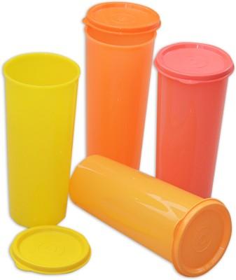 Tupperware  - 470 ml Plastic Multi-purpose Storage Container(Pack of 4, Multicolor) at flipkart
