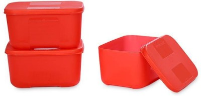 Signoraware Icy Cool Big  - 700 ml Plastic Food Storage(Pack of 3, Red)  available at flipkart for Rs.650