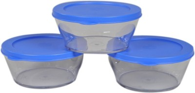 Tupperware Clear Bowls  - 610 ml Plastic Multi-purpose Storage Container(Pack of 3, Clear) at flipkart