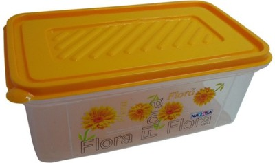 Nayasa Bread Box  - 2000 ml Plastic Grocery Container(Yellow)  available at flipkart for Rs.119