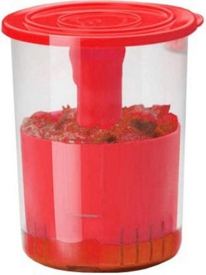 Hari Om Enterprises Pickle  - 1000 ml Plastic Grocery Container(Multicolor) at flipkart
