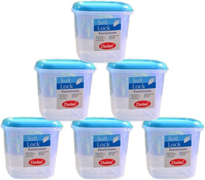 c68a797e25e 49% OFF on Chetan Softlock - 2000 ml Plastic Grocery Container(Pack of 6