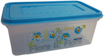 Nayasa Bread Box  - 2000 ml Plastic Grocery Container(Blue)  available at flipkart for Rs.160