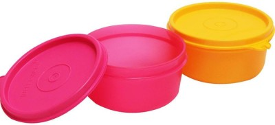 Tupperware TropicalTwins 2 Containers Lunch Box(250 ml)  available at flipkart for Rs.249