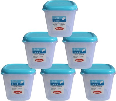 1923bfc17fe 40% OFF on Chetan Softlock - 5000 ml Plastic Grocery Container(Pack of 6