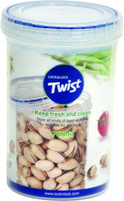 Lock & Lock Twist Container  - 760 ml Plastic Food Storage(Clear)  available at flipkart for Rs.210