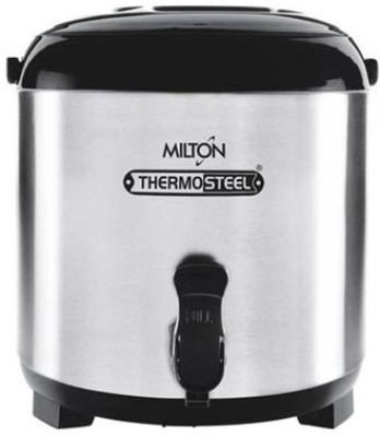 Milton   3700 ml Steel Grocery Container   Silver  Milton Kitchen Containers