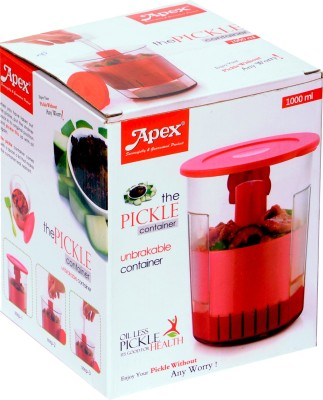 Apex AHPLA0131  - 1000 ml Plastic Spice Container(Green) at flipkart