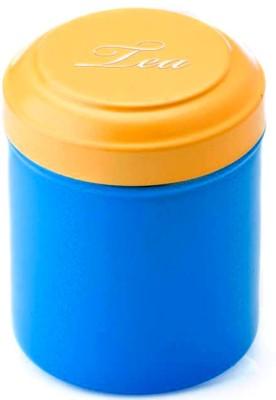 Ashvita Design Studio Tea   500 ml Steel Grocery Container Multicolor