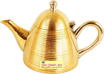 SSA   500 ml Brass Grocery Container Yellow SSA Kitchen Containers