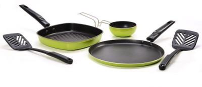 Sumeet Nonstick Fusion Five Cookware Set Aluminium, 5   Piece Sumeet Cookware Sets