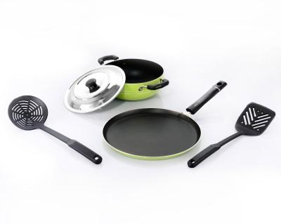 Sumeet Nonstick Festive Five Cookware Set Aluminium, 5   Piece Sumeet Cookware Sets