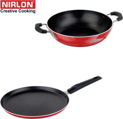 NIRLON COMBO SET Cookware Set(Aluminium, PTFE (Non-stick), 2 - Piece) at flipkart