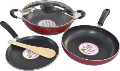 Bajaj Majesty Duo Induction Bottom Cookware Set(PTFE (Non-stick), 3 - Piece)