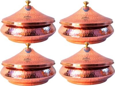Indian Craft Villa Mughlai Biryani Cookware Set(Copper, Steel, 4 - Piece) at flipkart