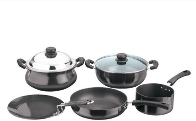 Vinod HACM-5 Induction Bottom Cookware Set(Hard Anodised, 5 - Piece) at flipkart