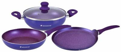 Wonderchef Blueberry Induction Bottom Cookware Set