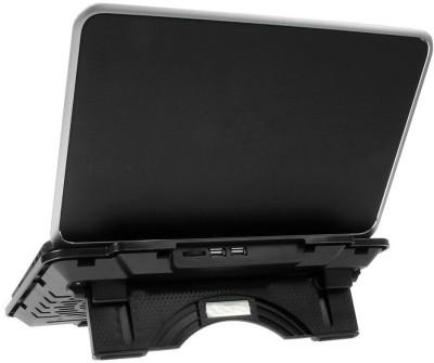 Shrih SH   02108 Multi Angle Stand Dual LED Dual Fan Cooling Pad