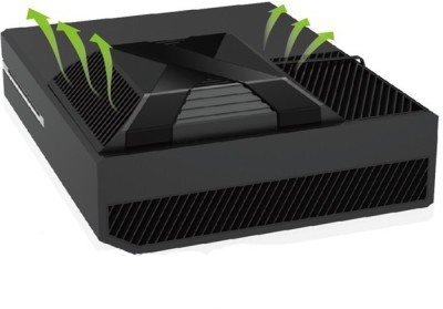 Microware Auto-Sensing Cooling Fan For Xbox One Ipega Cooling Pad(Black) at flipkart