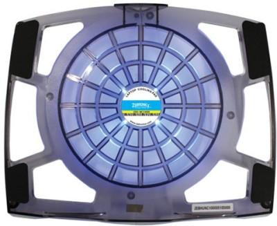 Zebronics ZEB NC1000 Cooling Pad(Grey & Black)  available at flipkart for Rs.549