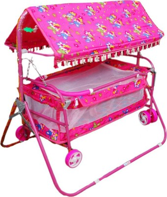 AdevWorld baby bassinet Bassinet(Pink) at flipkart
