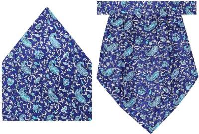 Tiekart Silk Paisley Cravat(Pack of 2)