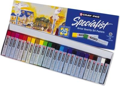 Sakura Specialist Oil Pastel Set of 25, Assorted Sakura Toys